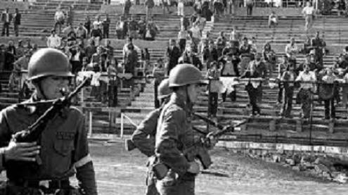 Chile septiembre de 1973 : un estadio y un golpe de estado