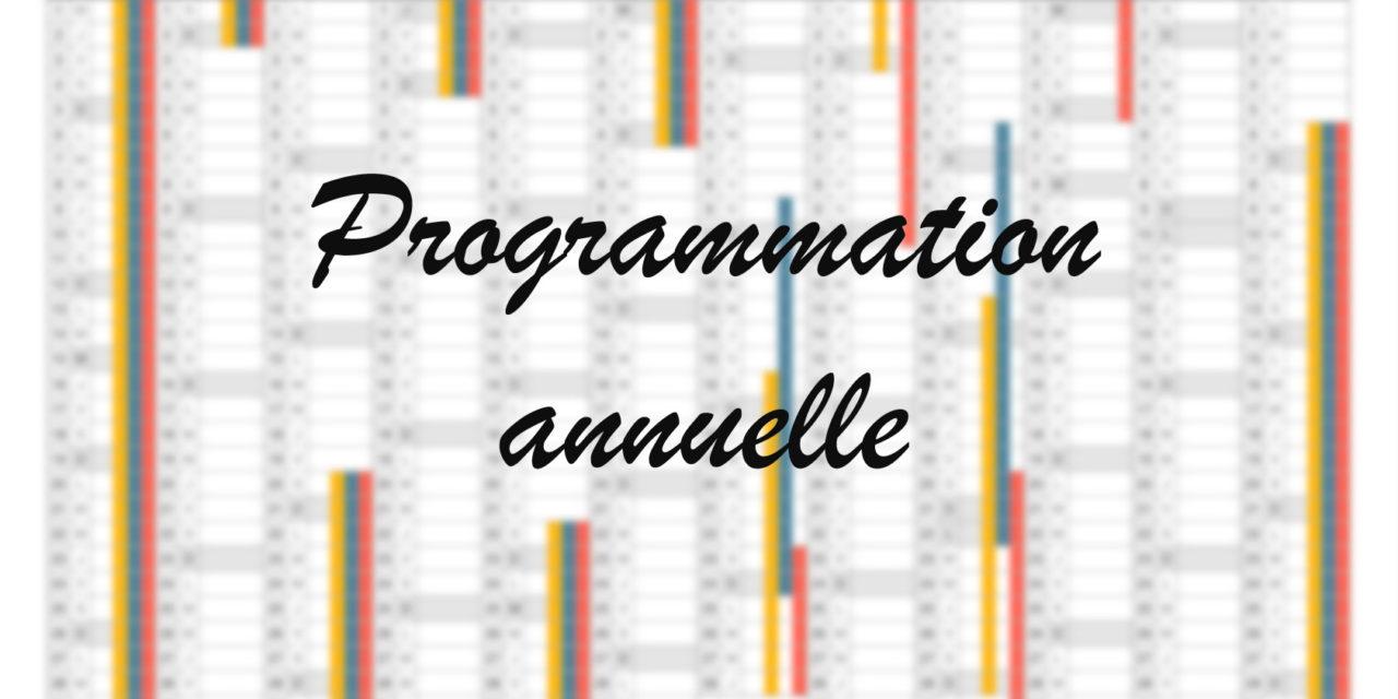 Proposition de programmation 1ère ES/L 2018-2019