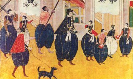 Image illustrant l'article Namban Byobu-c.1550 de Clio Lycee