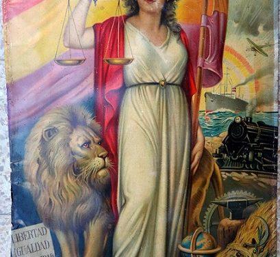 «La niña bonita», alegoría  de la segunda República española