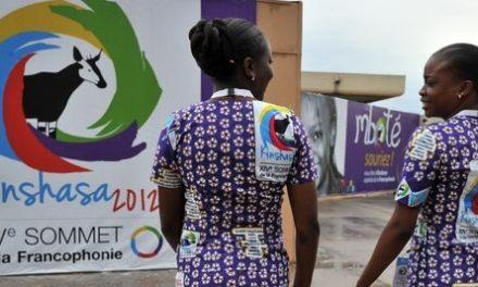 Image illustrant l'article Kinshasa-hotesses-Sommet-de-la-francophonie de Clio Lycee