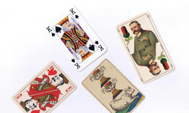 Un produit mondialisé : les cartes à jouer
