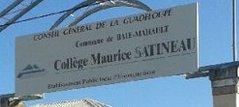 Documentation pour enseignants – En Guadeloupe, un collège qui aura 40 ans cette année porte depuis 1979 le nom d'un député qui s'associa jusqu'en 1944 à l'action du Commissariat général aux questions juives
