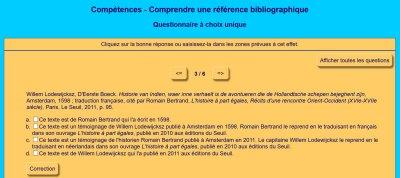 Comprendre une référence bibliographique