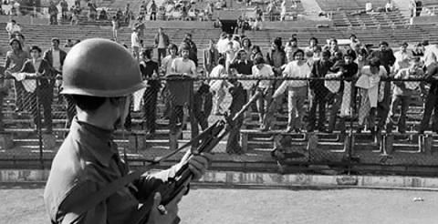 Chili septembre 1973 : un stade et un coup d'Etat