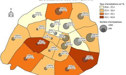 Image illustrant l'article rafle vel d'hiv cartographie de Clio Lycee