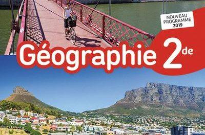 Image illustrant l'article Geographie-2de-Manuel-2019 de Clio Lycee