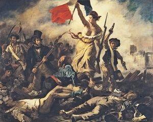 Image illustrant l'article Eugène_Delacroix_-_La_Liberté_guidant_le_peuple de Clio Lycee
