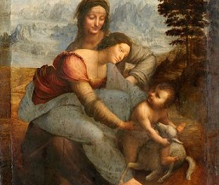Image illustrant l'article Leonardo_da_Vinci_-_Virgin_and_Child_with_St_Anne_C2RMF_retouched de Clio Lycee