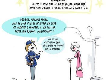 Image illustrant l'article la-poste_dessin3 de Clio Lycee