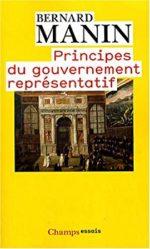 Fiche de lecture à partir d'un extrait de «Principes du gouvernement représentatif» de Bernard Manin