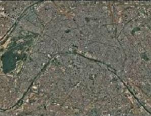 Transposer une image satellite en schéma à l'aide des notices de géoimage