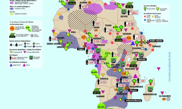 Exercice de méthodologie pour travailler l'analyse de texte – La Chine en Afrique