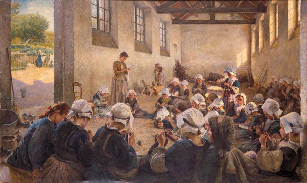 Sujet d'étude : l'instruction des filles sous la Troisième République avant 1914