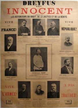 l'affaire Dreyfus, la presse et l'opinion