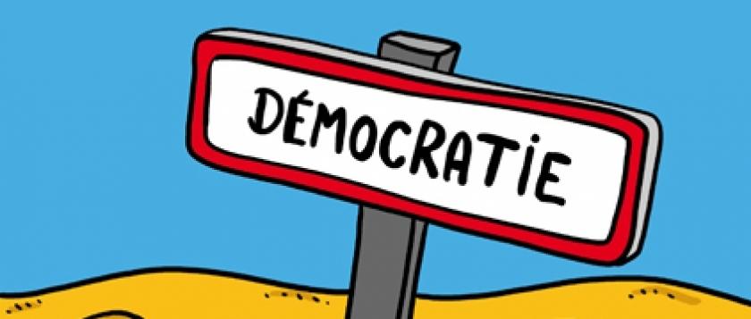 (Axe 1) Penser la démocratie : démocratie directe et représentative
