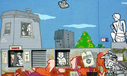 Image illustrant l'article Mur graffiti Berlin Pixabay image liber de droit de Clio Lycee