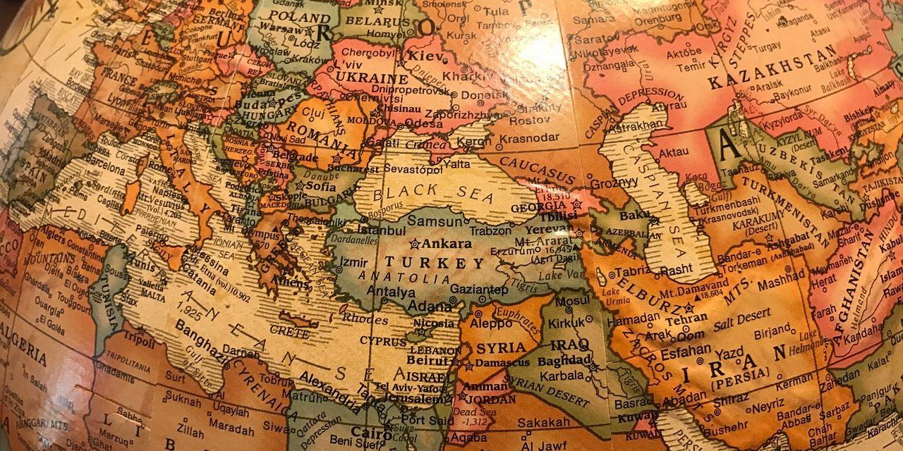 Les frontières de la Turquie
