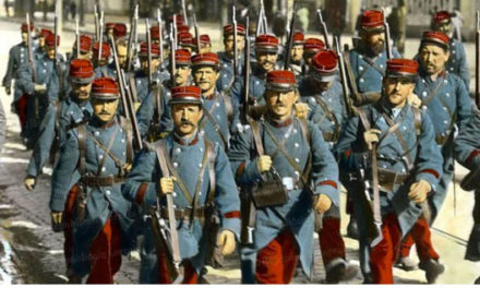 Image illustrant l'article Mobilisations des troupes  août 1914 de Clio Lycee