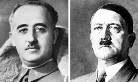 Franco pide ayuda a Hitler