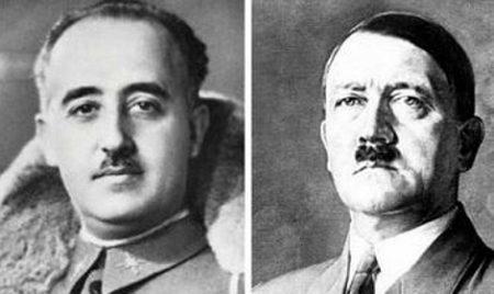 Franco pide ayuda a Hitler al principio de la guerra civil