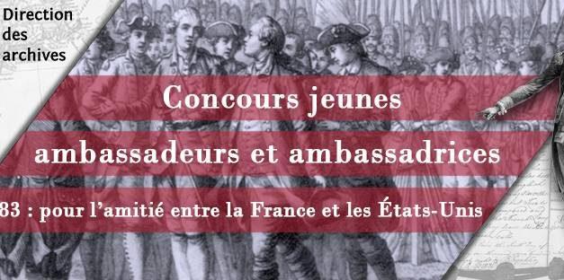 Concours des jeunes ambassadeurs et ambassadrices