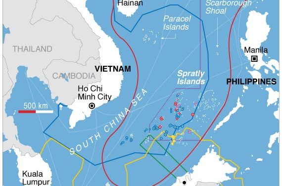 Terminale-Géographie-Mers et océans : la mer de Chine méridionale