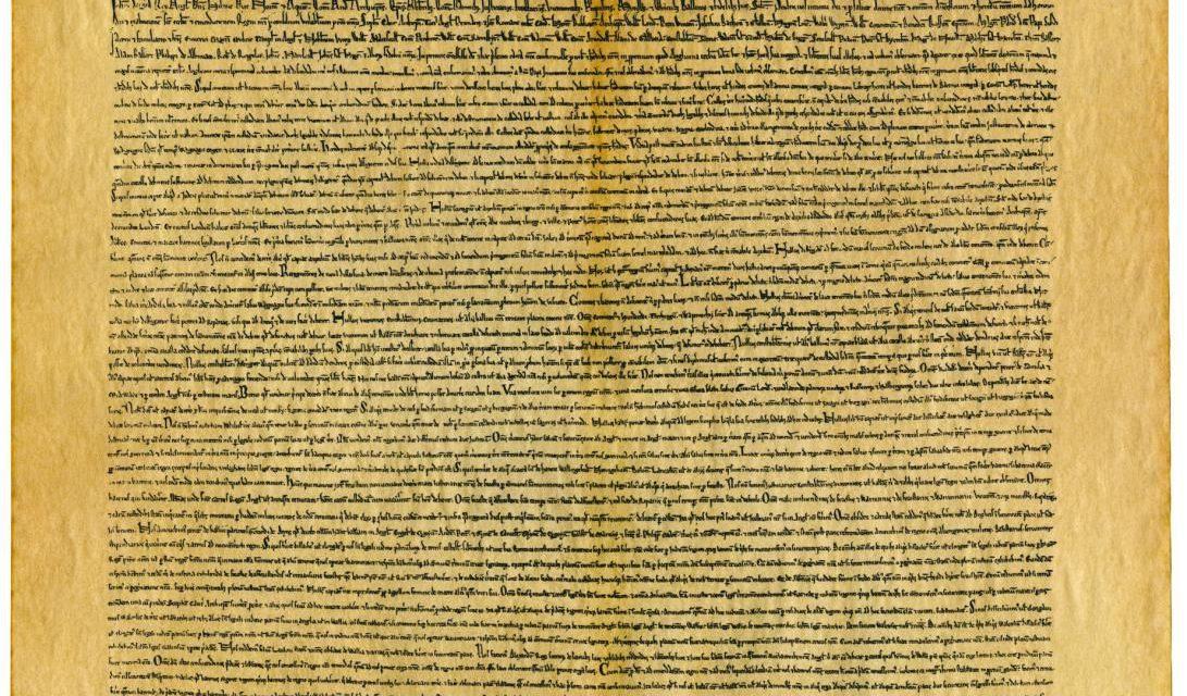 The Magna Carta, 1215