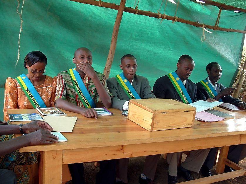Les tribunaux gacaca au Rwanda