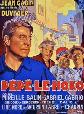 Alger, ville coloniale à travers Pépé le Moko de Julien DUVIVIER (France – 1937)