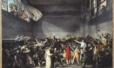 Image illustrant l'article serment jeu de paume de Clio Lycee
