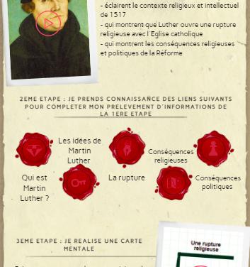 Luther et les Réformes