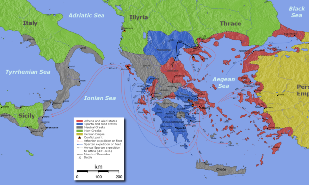 Activité : un débat à l'Ecclésia sur l'intervention en Sicile pendant la guerre du Péloponnèse
