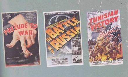 Utiliser le livre de Michel Viotte » La guerre d'Hollywood : 1939-1945. Propagande, patriotisme et cinéma»